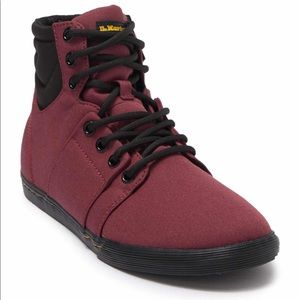 Dr. Martens Rozarya Sneaker Cherry Red Canvas